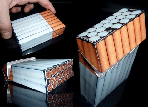 How To Make Paper Cigarettes - invisible cigarette pack by nicosmiley on deviantart