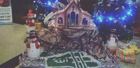 negara arab membuat pohon natal klarifikasi lafadz allah pada pohon natal di novita