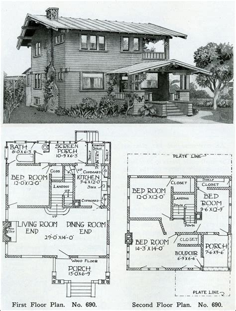 craftsman style home plan books home design and style