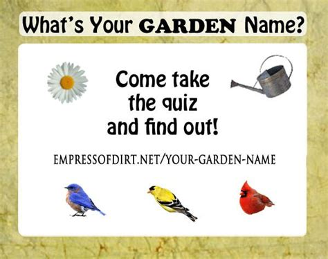Garden Of Names Hello My Garden Name Is O Watering Can Come Find