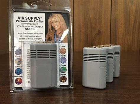 new improved 2018 air supply mini mate personal wearable air purifier as180i mor