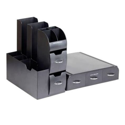 Combine Home Depot Gift Cards - mind reader combine 2 piece coffee pod station in black cmb01 blk the home depot