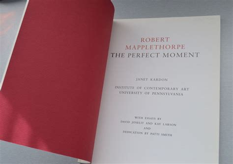 libro the perfect moment robert mapplethorpe the perfect moment 1988 catawiki