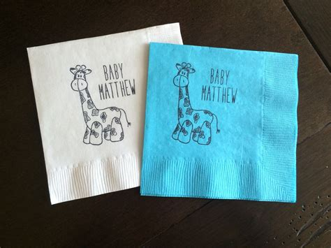 Personalized Baby Shower Napkins Cheap by 10 Baby Shower Napkins To Wow Your Guests