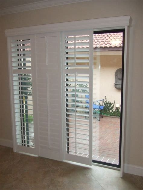 Sliding Patio Door Blinds Best 25 Sliding Door Blinds Ideas On Sliding Door Coverings Sliding Door Curtains