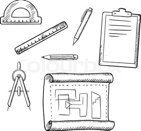 architectural drawing course tools and techniques for 2 d and 3 d representation books architect drawing compasses pencil pen ruler half
