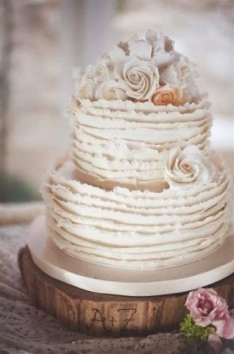 really beautiful shabby chic wedding cakes 2372305 weddbook