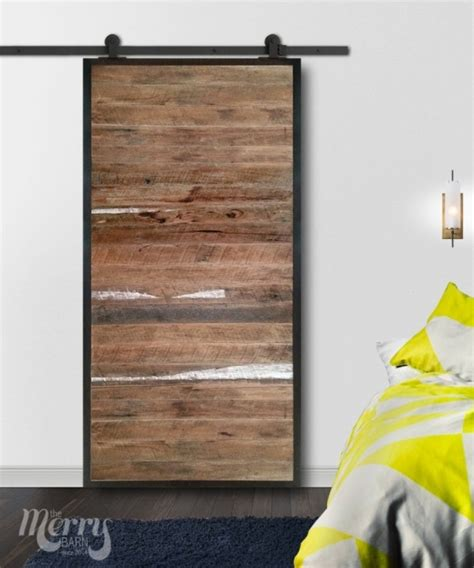 steel barn door steel series slat steel frame barn door