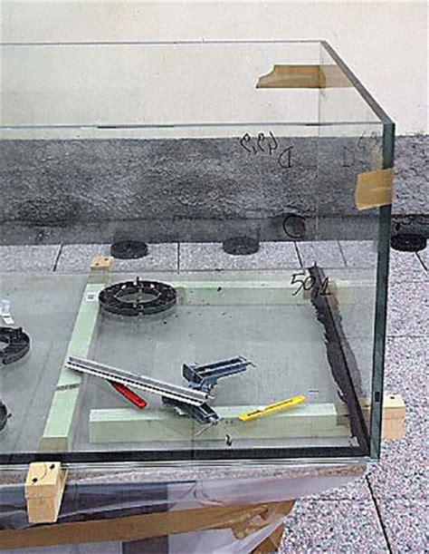 costruire vasca acquario costruire un acquario aperto da 200 litri con sump