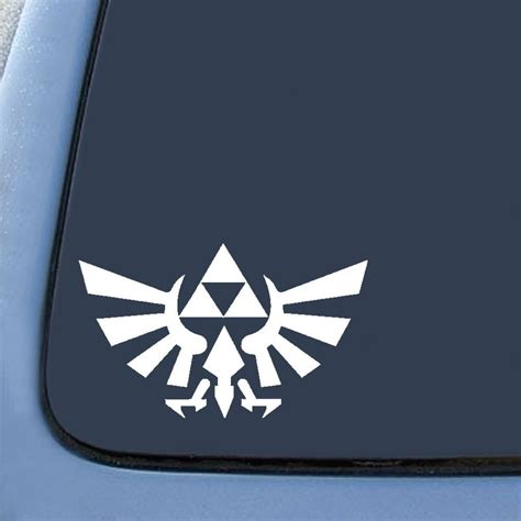 Zelda Auto Sticker by Bargainmax Legend Of Zelda Sticker Decal Notebook Car