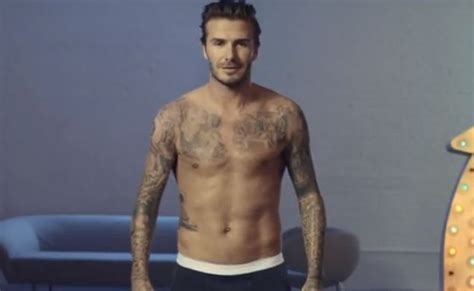 Beckham In No Thanks by David Beckham Got In A Bowl Commercial For