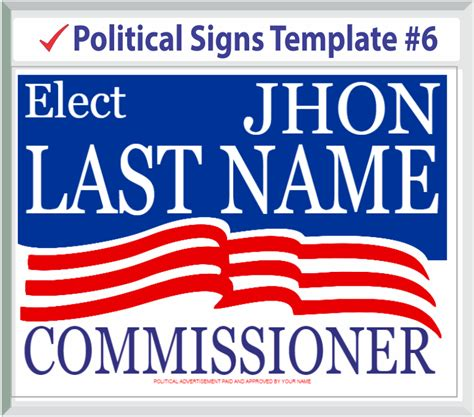 28 political signs templates cheap political caign