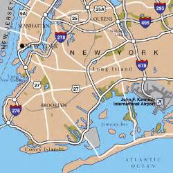 New York Airports Map by John F Kennedy International Airport Airport Maps Maps