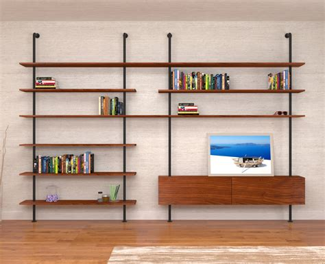 libreria da soggiorno libreria da soggiorno in stile industriale svevo