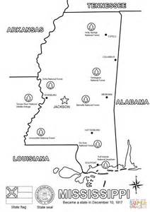 printable map mississippi printable map of mississippi printable maps