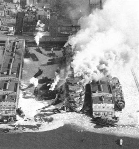 titanic boat fire ss normandie fire google search fire boats police