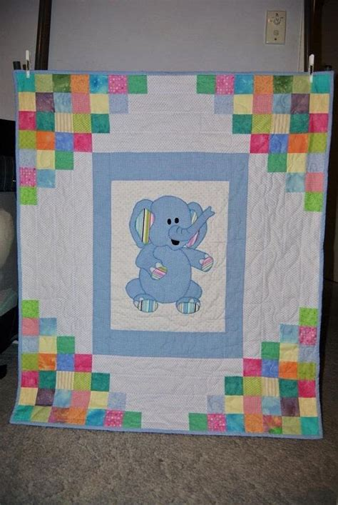 Handmade Childrens Quilts - 25 best ideas about elephant quilt on
