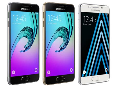 Samsung A5 2016 Black samsung upgrades galaxy a5 to the a5 2016 in black gold