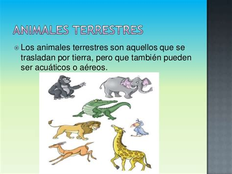 imagenes animales acuaticos y terrestres animales terrestres y acuaticos