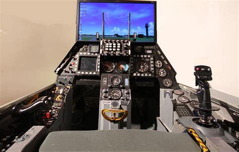 f 16 simulator cockpit for sale f 16 cockpit flight simulator bing images