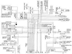 nissan pulsar electronic unit wiring diagram