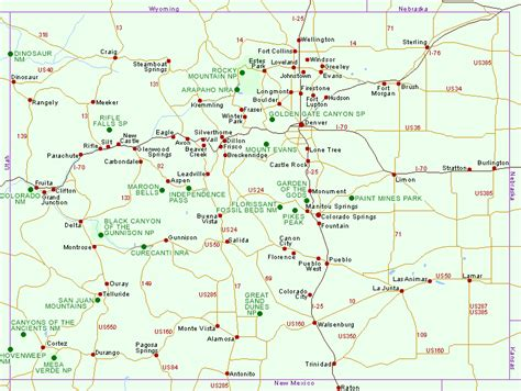 southwest colorado fly fishing map map of national parks and national monuments in colorado