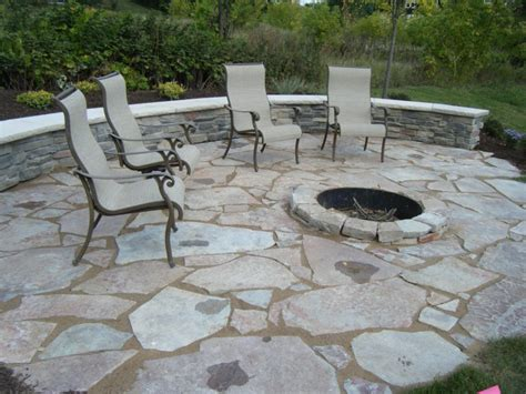 outdoor patio with pit landscaping gardening ideas
