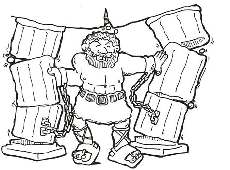 samson coloring page samson coloring pages coloring home