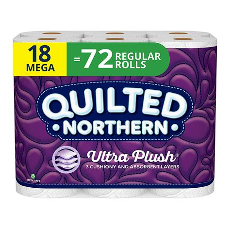 quilted northern ultra plush toilet paper      roll shipped   coupon queen