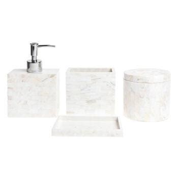 mother of pearl bathroom accessories zara home mother of pearl bathroom accessories