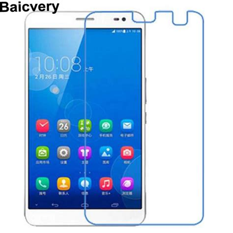 Huawei Mediapad X1 Tempered Glass nano explosion proof soft glass clear for huawei