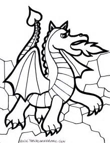 download coloring pages dragon coloring page dragon