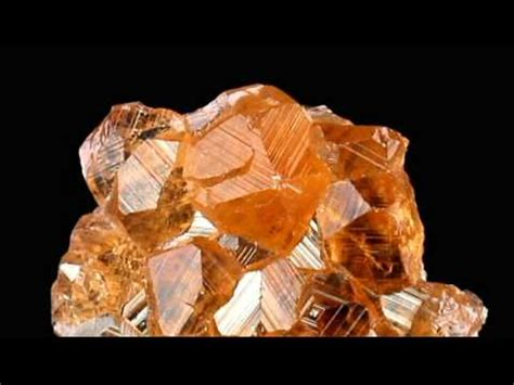 Hq Orange Garnet 1 2 quot gem orange grossular garnet hessonite crystals