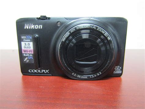 Nikon Coolpix S9500 Wifi Gps by Nikon Coolpix S9500 Digital 18 1mp 22x Wide Zoom Wi