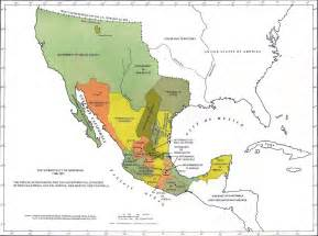 Mexico Old Map by Map Of Mexico 1786 1821