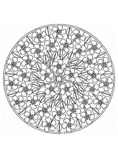 mandalas to print and color crafternoons pinterest
