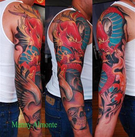 red dragon tattoos