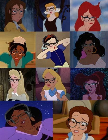 Disney Princess Hipster Meme - disney hipsters collect the whole set