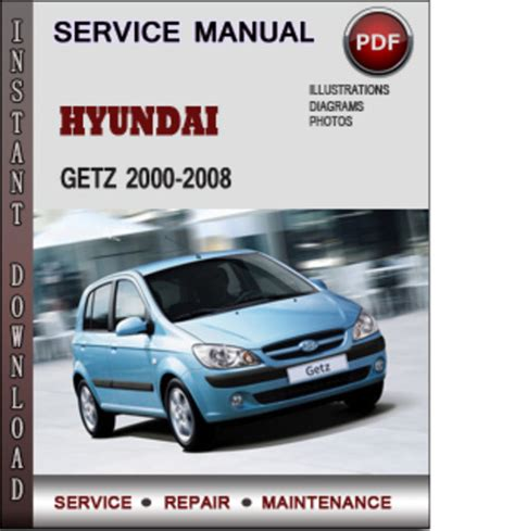 hyundai getz 2000 2008 factory service repair manual download pdf