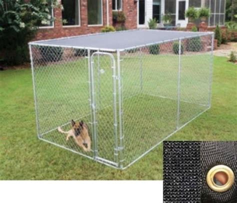 backyard dog pens large outdoor chain link dog kennel enclosure exercise pen