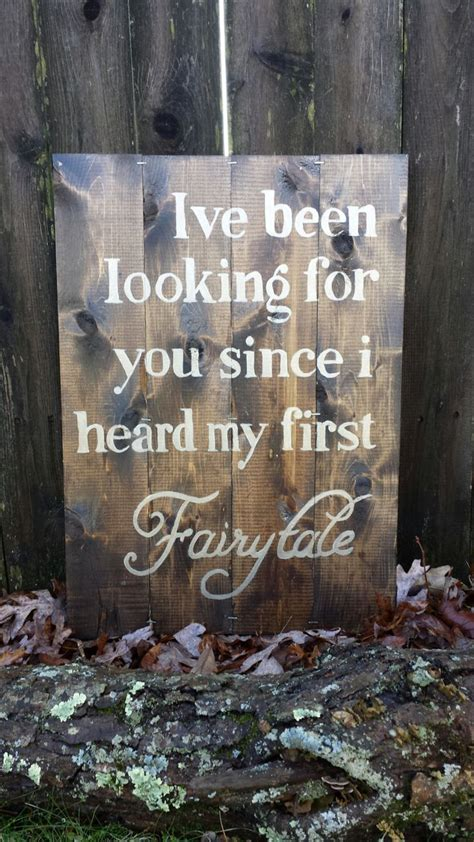 Wedding Quotes Decor by Wedding Quotes Rustic Wood Sign Decor Painted Wood With