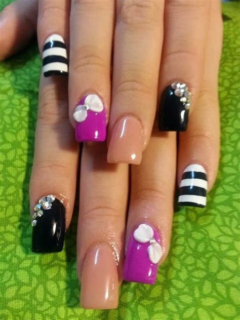 dise 241 os de u 241 as decoradas con flores nails art diseno de unas decoradas 350 u 241 as esculturales