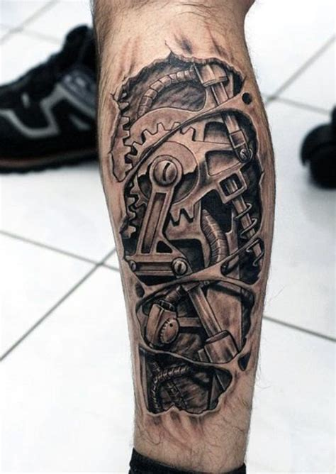 biomechanical tattoo designs for men tattooic