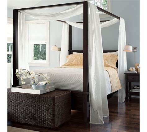 4 post canopy bed 25 best ideas about king size canopy bed on pinterest