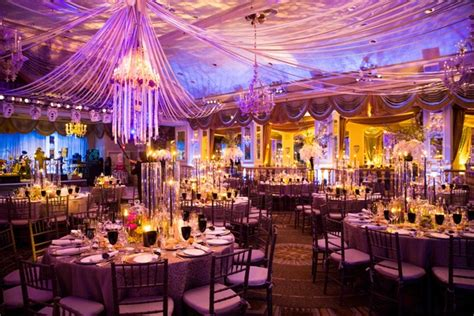 york city wedding filled  opulent decor