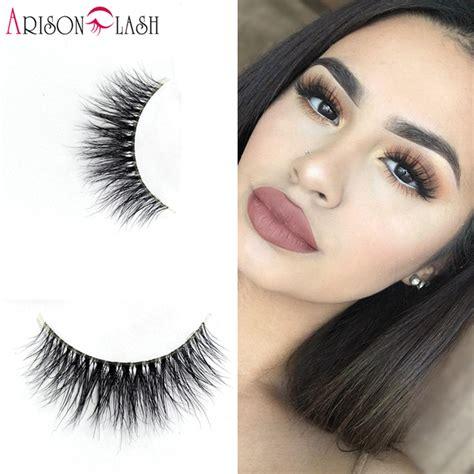 aliexpress lashes new transparent plastic 3d mink eyelashes luxurious