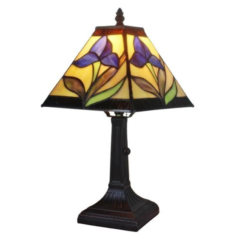amora lighting tiffany l amora lighting 14 5 in tiffany style and purple mission