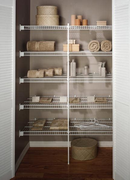 Linen Closet   Wire Shelving   Orange County, NY   Rylex