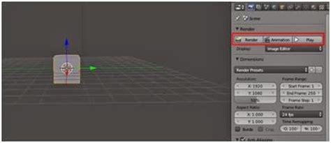 cara membuat gambar 3d komputer cara membuat animasi bola memantul lantai dan tembok