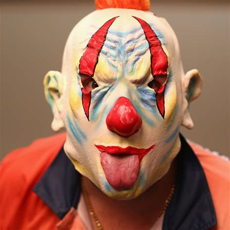of a clown us ohio schoolboy attacked by knife wielding clown